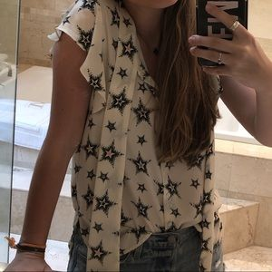 Zara Tops - Star Top